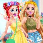 Princess Easter Bunny Party- online timepass game