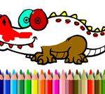 Bts Aligator Coloring
